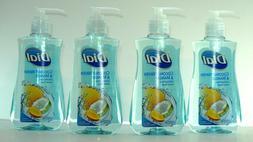 4-Pack Dial Liquid Hand Soap + Wash , 7.5 Fl Oz, 4 scents