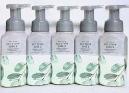 5 Bath & Body Works WHITE TEA SAGE Gentle Foaming Hand Soap