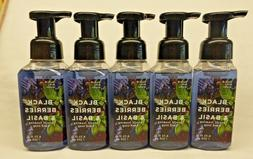 5 Black Berries & Basil Gentle Foaming Hand Soap Bath & Body