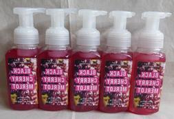 5 Black Cherry Merlot Gentle Foaming Hand Soap Bath & Body W
