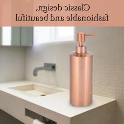 550ml Bathroom Countertop Hand Pump Liquid Soap Dispenser Ki