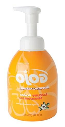 Gojo 576204 Luxury Foam Antibacterial Handwash, Orange Bloss