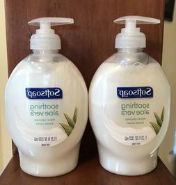 Softsoap 11.25 Oz Soothing Aloe Vera Moisturizing Soft & Cl