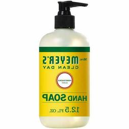 6 Mrs. Meyers Liquid Hand Soap Honeysuckle 12.5 oz 6 Pack