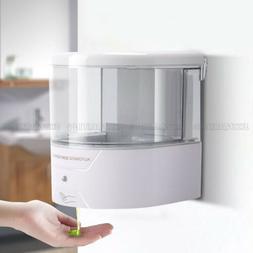 600ML Automatic Soap Liquid Dispenser Wall Mount Hands Free