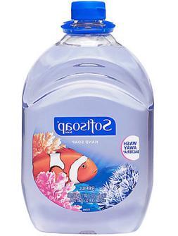 64 OZ SOFTSOAP Liquid Hand Soap Refill Aquarium Scent Jumbo