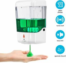 700ML Automatic Soap Dispenser Sanitizer Hands-Free IR Senso