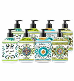 8-pack Home and Body Refillable and Reusable Hand Soap Colle