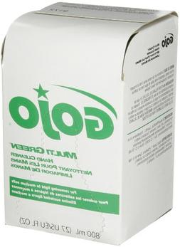 GOJO 800 Series MULTI GREEN Hand Cleaner, with Natural Pumic