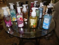 BATH & BODY WORKS FOAMING & CREAMY HAND SOAPS, LOTION ~ ALMO