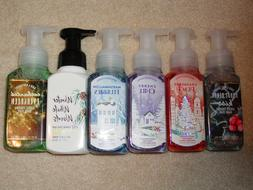 BATH & BODY WORKS GENTLE FOAMING HAND SOAP HOLIDAY & MORE **