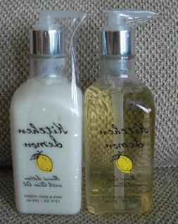 Bath & Body Works Kitchen Lemon Hand Soap & Hand Lotion With