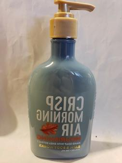 Bath & Body Works Nourishing Hand Soap 8 oz crisp morning ai