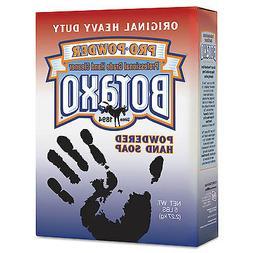 Boraxo Powdered Original Hand Soap Unscented Powder 5lb Box