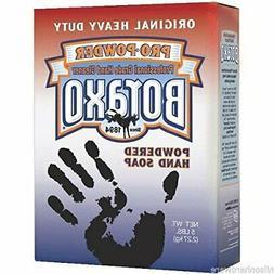 Boraxo Powdered Original Hand Soap, Unscented Powder, 5lb Bo