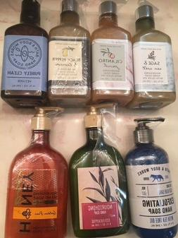 Brand NEW - Bath & Body Works Hand Soap Different Formulatio