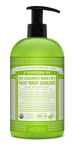 Dr. Bronner's Magic Soaps: Lemongrass Lime Shikakai Body Soa