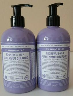 Dr Bronners Organic Shikakai Lavender Liquid Hand Soap, 12 O