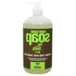 EVERYONE - 3-In-1 Liquid Hand Soap Mint + Coconut - 32 fl. o