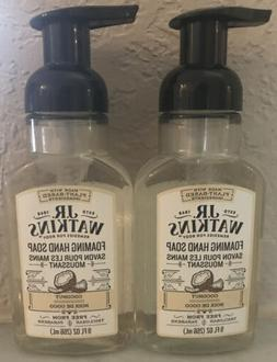 J.R. Watkins Coconut Foaming Hand Soap 9 fl oz