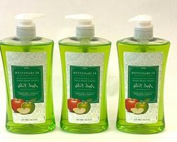 Lot of 3 Klar and Danver Liquid Hand Soap Apple Fields Pump