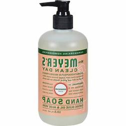 Mrs. Meyers Clean Day Liquid Hand Soap Geranium 12.5 oz