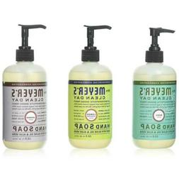 Mrs Meyers Hand Soap Variety Pack Basil, Lemon and Lavender
