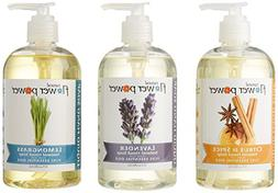 Natural Flower Power - Natural Liquid Hand Soap Variety Pack