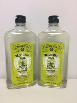 New JR Watkins Liquid Hand Soap Refill  Aloe and Green Tea 2