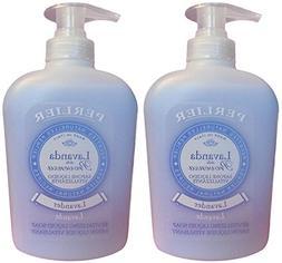 """Perlier: """"Lavanda della Provenza"""" Liquid Soap, Lavender Scen"""