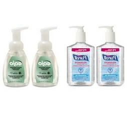 Advanced Hand Sanitizer/Hand Soap Kit, 8 oz Sanitizer, 7.5oz