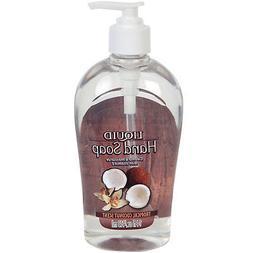Tropical Coconut Liquid Hand Soap 14-oz. Bottles Hand Soaps