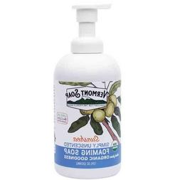 Vermont Soap Unscented Organic Foaming Hand Soap 12 ounce