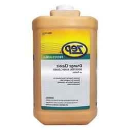Zep Professional Industrial Hand Cleaner, Gel, Orange, 1 gal