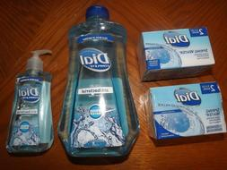 Dial AB Spring Water 4 bars + 7.5 liquid  hand soap + 32 fl