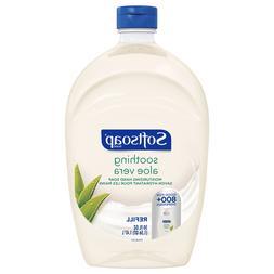****Softsoap Aloe Vera Fresh Scent Refill Bottle Liquid Hand