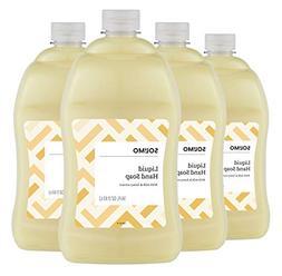 Amazon Brand - Solimo Liquid Hand Soap Refill, Milk and Hone