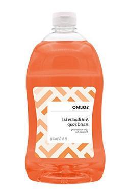 Amazon Brand - Solimo Antibacterial Liquid Hand Soap Refill,