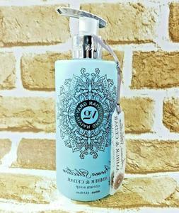 Vivian Gray AMBER & CEDAR Cream Hand Soap 13.5 oz Made in Ge