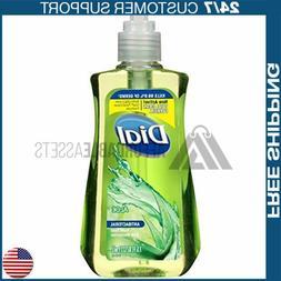 Dial Antibacterial Liquid Hand Soap, Aloe, 7.5 Fluid Ounces