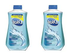 Dial Antibacterial Liquid Hand Soap Refill, Spring Water 32
