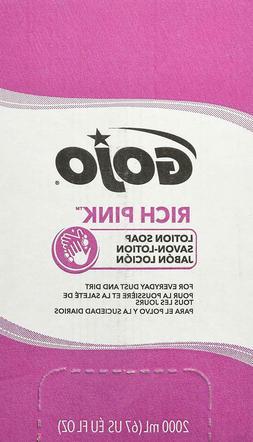 GOJO 7220-04 Antibacterial Lotion Soap Refill, 2000 mL, 4 Pa