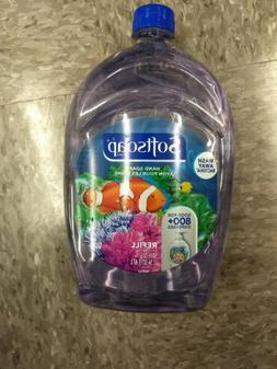 Softsoap Antimicrobial Hand Soap, 50oz Refill Kills Bacteria