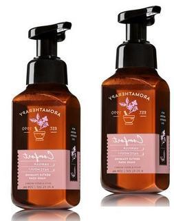 Bath and Body Works 2 Pack Aromatherapy Comfort Vanilla & Pa