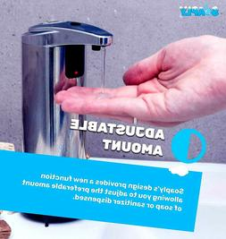 Automatic Touchless Soap Dispenser-Hands-Free Kitchen & Bath
