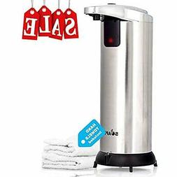Automatic Touchless Soap Dispenser Hands-Free Kitchen &amp B