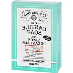 J.R. Watkins Bar Soap - Castile - Clary Sage - Natural - Fre