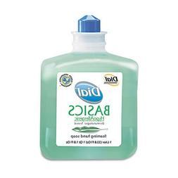 Dial Basics Foaming Hand Soap Refill, 1000mL, Honeysuckle, 6