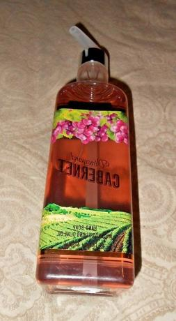 Bath & and Body Works Vineyard Cabernet Luxury Hand Soap Wit