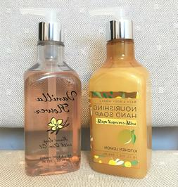 Bath & Body Works 10oz. *Nourishing Hand Soap* Vanilla/Lemon